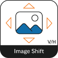 Horizontal and Vertical image shift