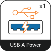 Powered by USB